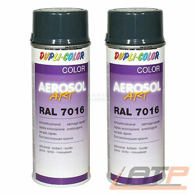 1x 400ml DUPLI COLOR AEROSOL ART RAL 7016 ANTHRAZITGRAU GLANZ SPRÜH LACK SPRAY