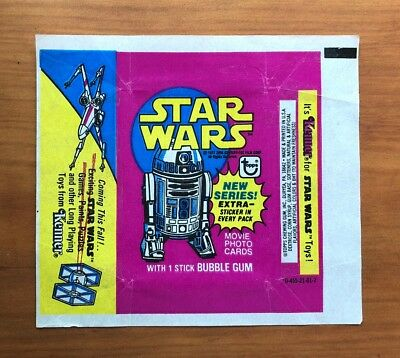 1977 Topps Star Wars Series 3 - Wax Pack Wrapper