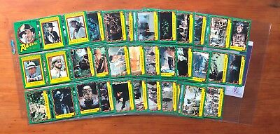 1981 Scanlens Indiana Jones Raiders of the Lost Ark - 78/88 Cards