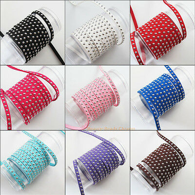 1Roll New Velvet Suede Rope Cords Necklaces Chains 2m/Roll 9Colors To Choose