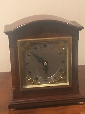 Antique ELLIOT LONDON Mahogany Bracket Mantel Clock Finnigans
