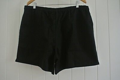 Core Hardware Mens Shorts Rugby SZ XL Black Classic Sportswear Training Footy