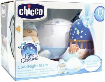 Chicco First Dreams GoodNight Stars NEU Sternenhimmelprojector Musik Mobile