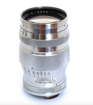Canon 85mm Lens f2 Serenar M39 53292