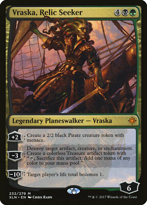 MTG Vraska, Relic Seeker [English, Ixalan, Free P&P]