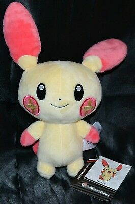 "9"" Plusle Poke Plush Standard Size Official Authentic Pokemon Center Dolls Toys"
