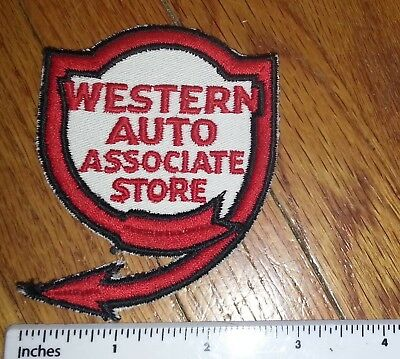 Western Auto Supply Patch Vintage NOS sew-on patch