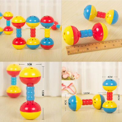 Plastic Baby-Toy Hands Shake Bell Ring Rattles toys Babys Educational Toy PR