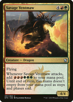 MTG 4x Savage Ventmaw [English, Playset, Dragons of Tarkir, Free P&P]