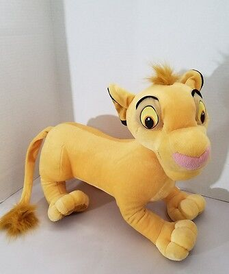 "Disney's ""The Lion King"" Large 20"" Young Simba  Plush Stuffed Toy"
