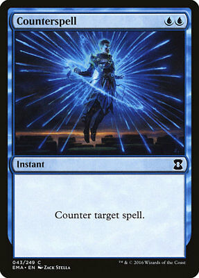 MTG Counterspell [English, Eternal Masters, Free P&P]