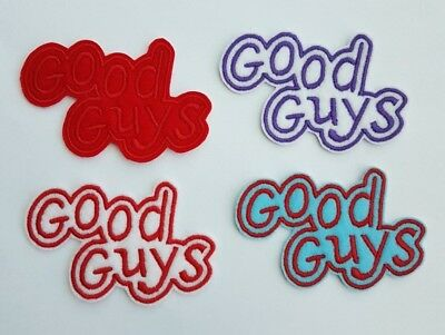 Good Guys Embroidered Patch Badge Iron on