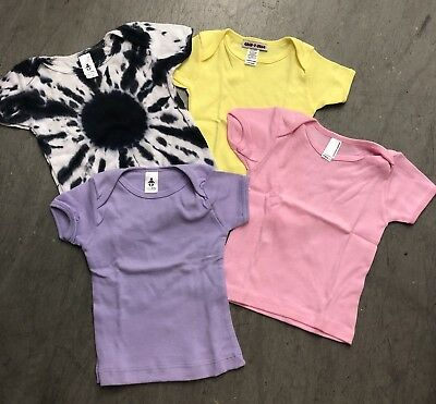 35 Pc New American Apparel Infant S/s Cotton Tees Sz 3/6M- 18/24M