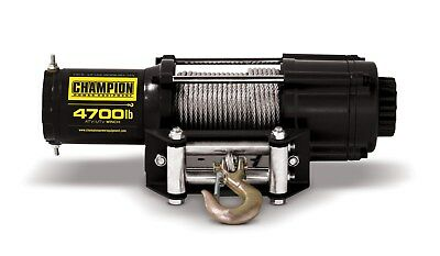 Champion Power Equipment 4700lb ATV/UTV Winch Kit 100129