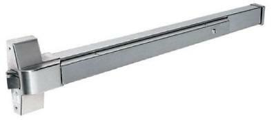 Door Push Bar With Heavy Duty Panic Exit Device Stainless Steel Handle Latches