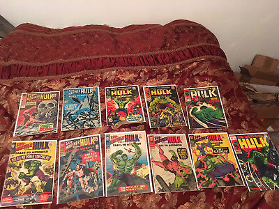 Silver Age Incredible Hulk and Tales to Astonish Lot of 11 Comics!! Lot 1 of 3