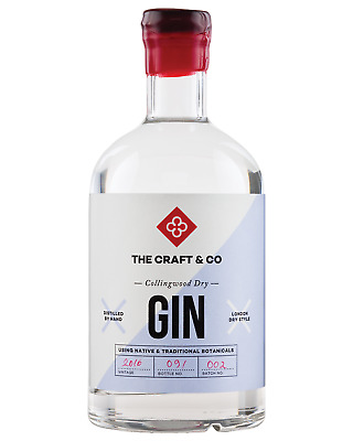 The Craft & Co Collingwood Dry case of 6 Gin 700mL