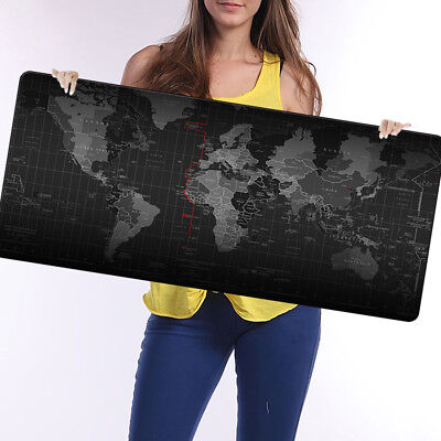 Mat Speed New Size Old Large Extended 90cm*40cm World Pad Mouse Wide Map Gaming