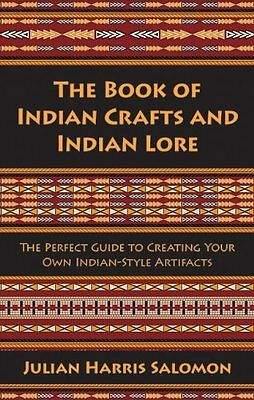 The Book of Indian Crafts & Indian Lore Book Native American Beaded Rug Wigwam *