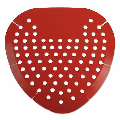 Boardwalk Urinal Screen Cherry Fragrance Red 7/Package