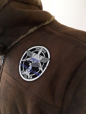 PATCH Boeing B787 Bomber Pilot Jacket sew-on or iron-on large fabric Dreamliner
