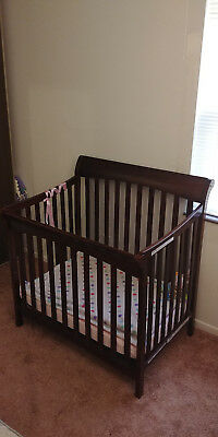 Childcraft Mini Crib Convertible Toddler Bed Manufactured 2015