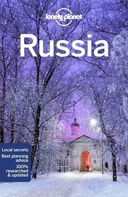 NEW Russia By Lonely Planet Travel Guide Paperback Free Shipping