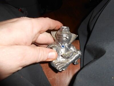 Rare MICHAEL RICKER Fantasy WIZARD KALEIDOSCOPE Pewter Frog Heavy Numbered