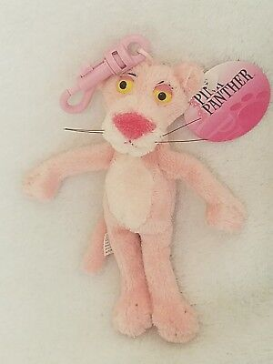"Aurora 5"" PINK PANTHER Stuffed Plush Toy Clip On w/ Tags"