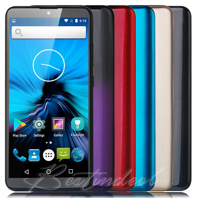 """New Unlocked Cheap 6.0"""" Smartphone Android 8.1 Cell Phone 3G Quad Core Dual SIM"""