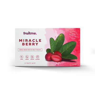Fruit Me™ Miracle Fruit Berries 10 Pack | Turns Sour Into Sweet *MIND BLOWING*
