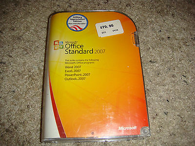 MICROSOFT OFFICE STANDARD 2007 (Military Appreciation Edition) W/ Product  Key