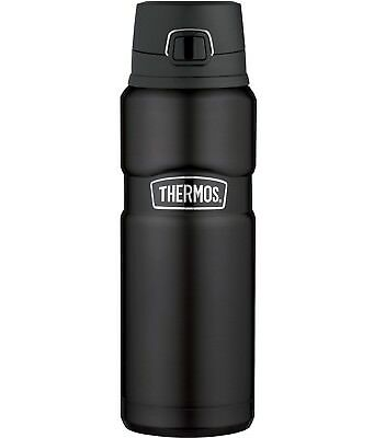 Thermos® Stainless King Drink Bottle 24oz, Matte black, Brand New