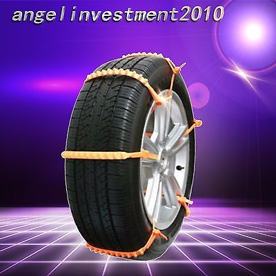 Car Anti-Skid Universal Mini Plastic Winter Tyres wheels Snow Chains Suv
