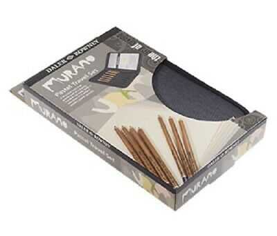 Daler Rowney Murano 9pc Pastel Pencil & Paper Set