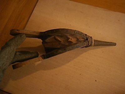 Vintage Antique Wooden Fireplace Bellows