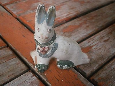 Antique Vintage Verry Rare Ceramic Whistle Rabbit