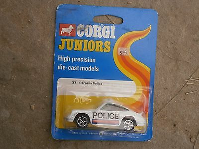 Corgi Juniors Britain  Car Porsche Police New Condition - Never Opened