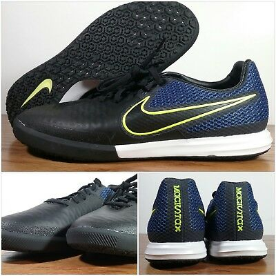 0bb875a5a99 NEW Nike Men s MagistaX Finale IC Indoor Soccer Black Navy 807568-008 Size  10.5
