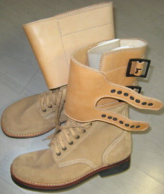 US WWII Army Kampfstiefel M43 Buckle Boots Gr. 7=41