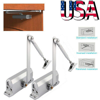 35KG Commercial Door Closer Automatic Hydraulic Door Closing Devices W3A3