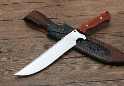 Sharp Utility Full Tang Hunting 5Mm Bowie Tactics Combat Rescue Camping Knife