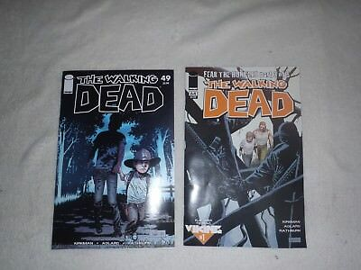 Two (2) The Walking Dead  Comic Books #49 - #64