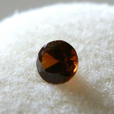 Natural red zircon...quality gem...0.43 Carat