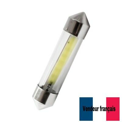 AMPOULE NAVETTE (x2) LED 36MM tube LED C5W 36 mm blanc xenon