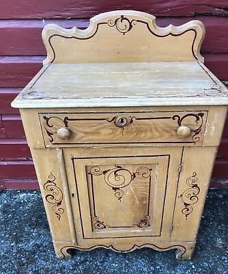 Antique Cottage Original Paint Washstand