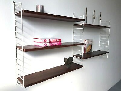 Nisse String Regal,Teakregal,Shelving System Royal,Cado,Nisse Strinning Ära