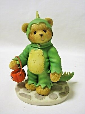 Cherished Teddies REX Dinosaur Costume Halloween Bear Figurine 269999 IOB