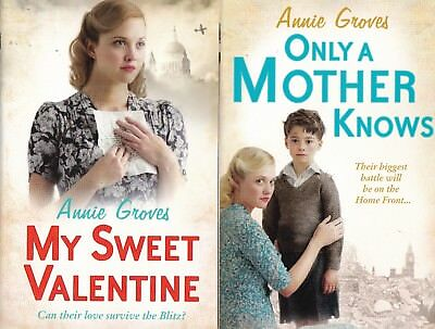 Annie Groves My Sweet Valentine And Only A Mother Knows, New 2 Book Set