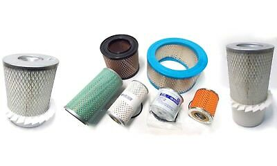 Oil, Fuel & Air Filter + Filter Kits for Lister Petter HR2 & HR3 engines